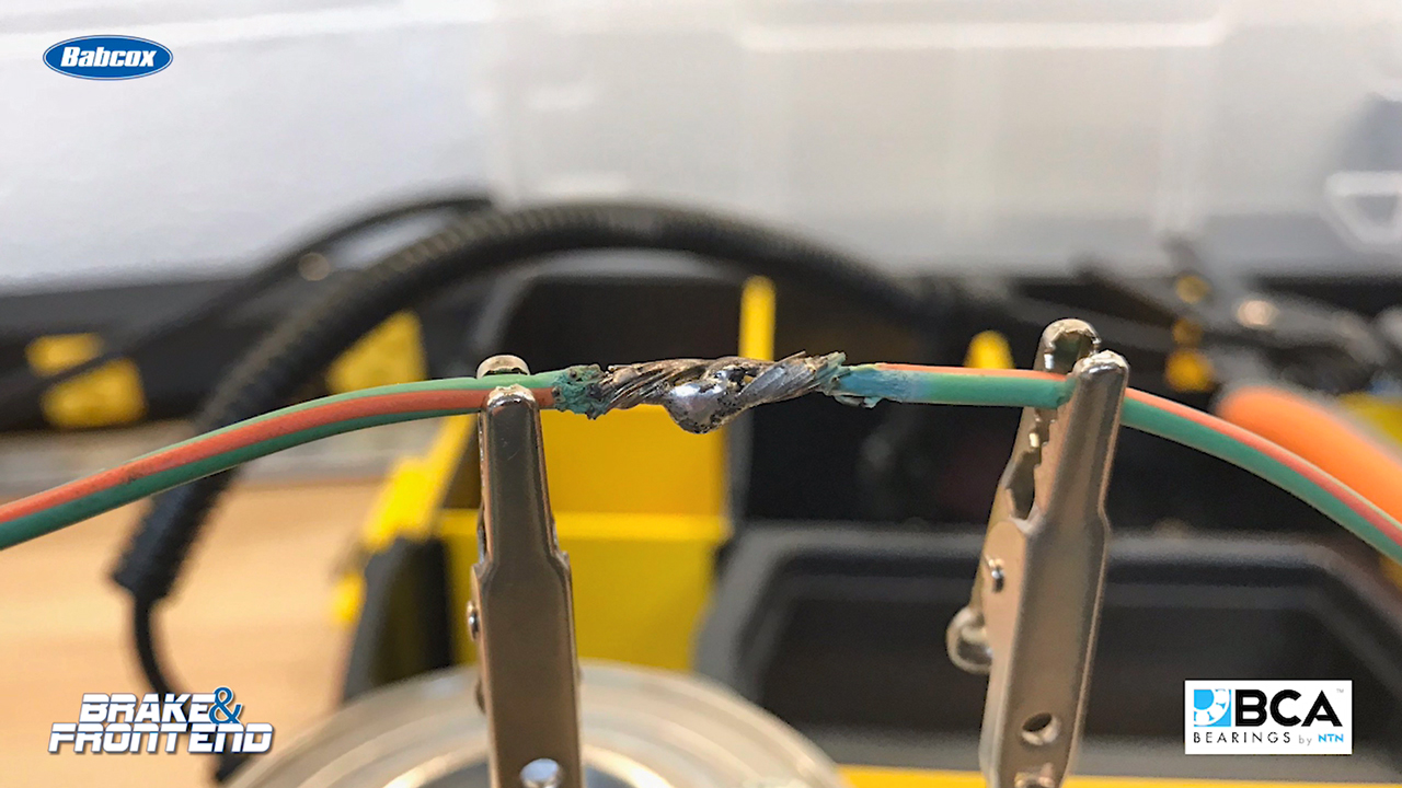 Numbered Wiring Harness